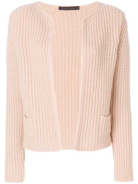 Incentive Cashmere cardigan cardigan open women nude sweater