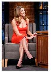 dress,plunge v neck,ashley greene,pumps,red dress,midi dress