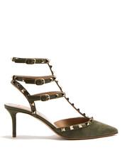 suede pumps,pumps,suede,khaki,shoes