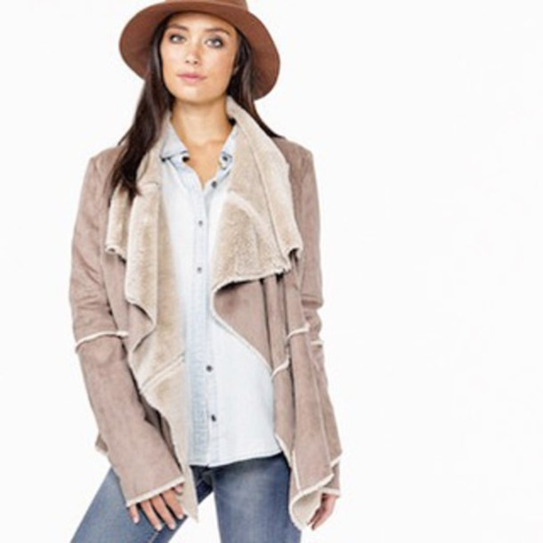 Coat Jacket Boho Chic Classy Fall Outfits Winter Style Sweater
