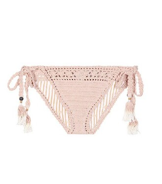 bikini crochet bikini cotton crochet pink swimwear
