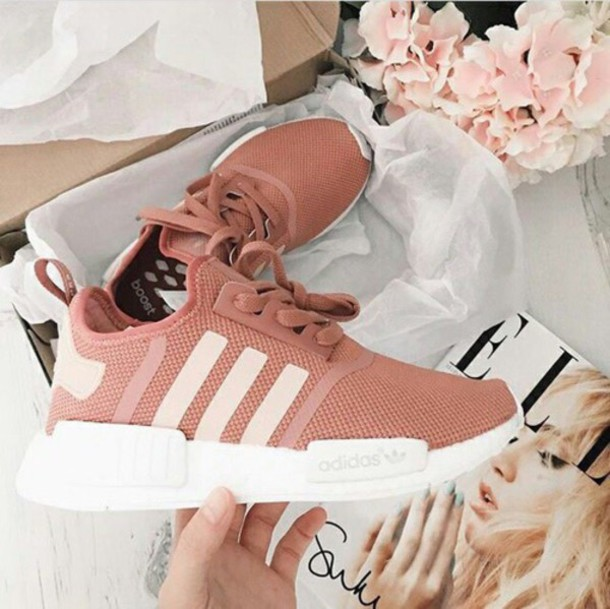 more photos 61ab7 55026 shoes adidas red coral adidas shoes adidas nmd pink elle rose gold