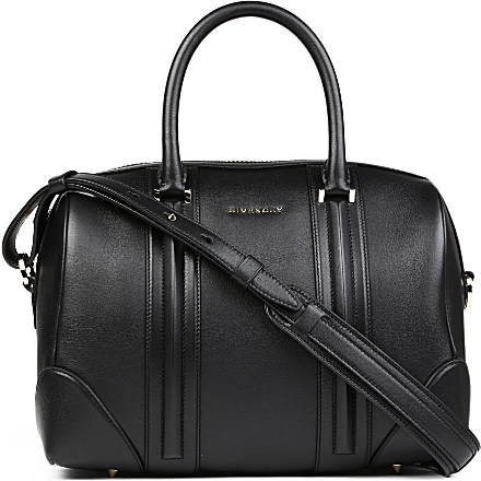 GIVENCHY - Lucrezia Sandy medium leather bowling bag | Selfridges.com