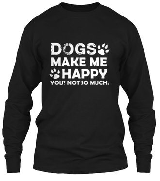 sweater dog quote on it