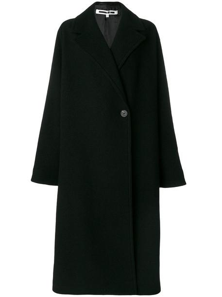 McQ Alexander McQueen coat oversized coat oversized women black wool