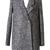 ROMWE | ROMWE Double-breasted Lapel Loose Grey Woolen Coat, The Latest Street Fashion