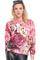 Letters & roses print sweatshirt, the latest street fashion
