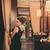 Carvella Laced Peplum Shiftdress Black - Kristines Collection