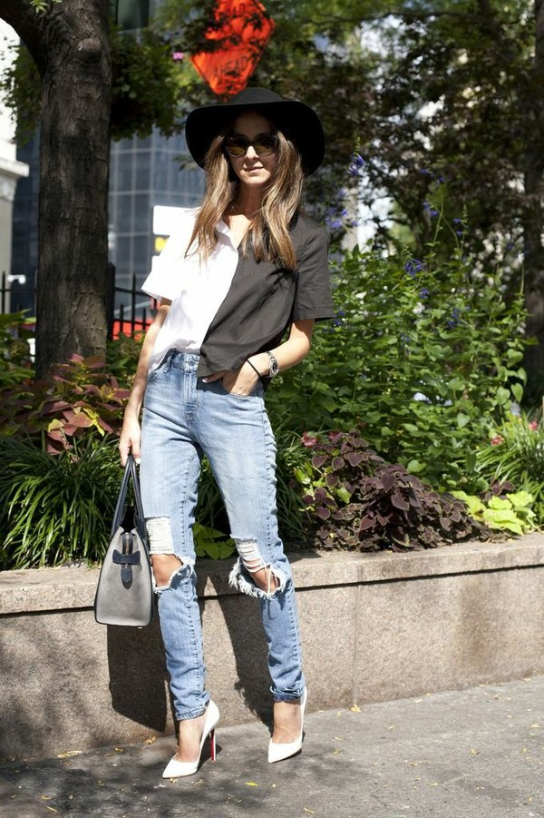 something navy jeans shirt t-shirt sunglasses shoes bag