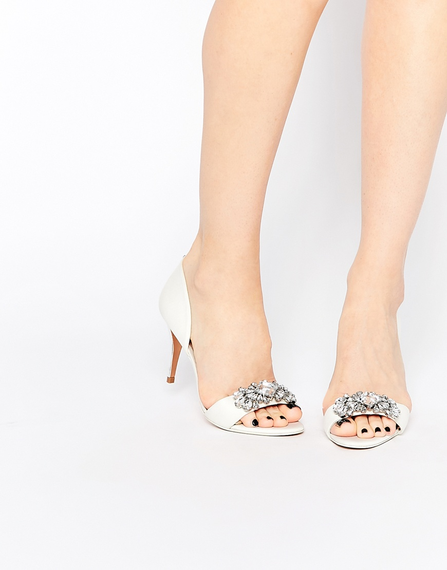 e254369b7b6987 Ted Baker Phinium Tie The Knot Bridal Embellished Heeled Sandals ...