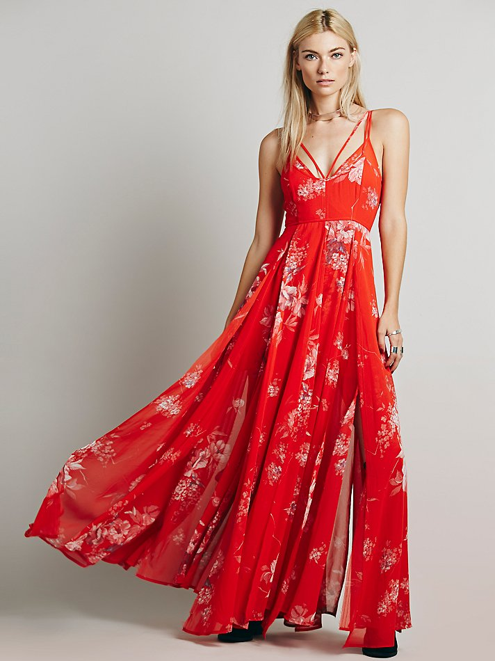 Free People Winter Garden Maxi