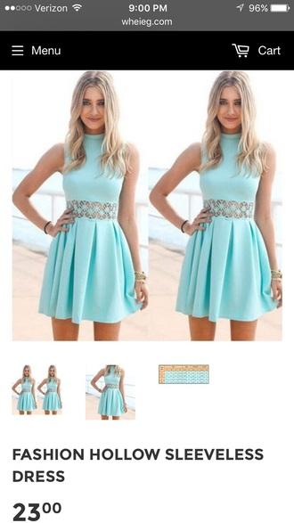 dress blue dress teal dress skater dress