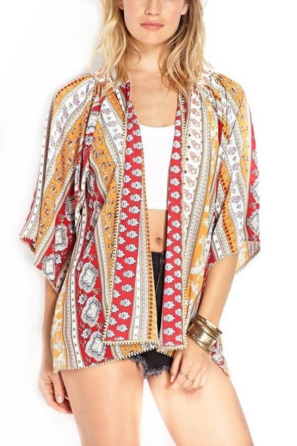 Boho Nancy Kimono u2013 Outfit Made
