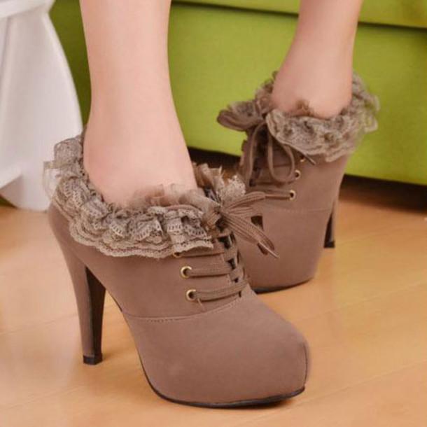 shoes heel bootie