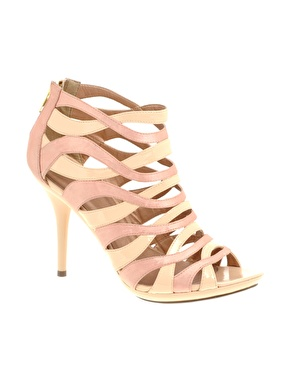 ASOS | ASOS SWIRL Strappy Cage Shoe at ASOS