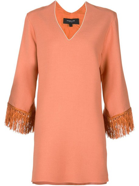 DEREK LAM tunic yellow orange top