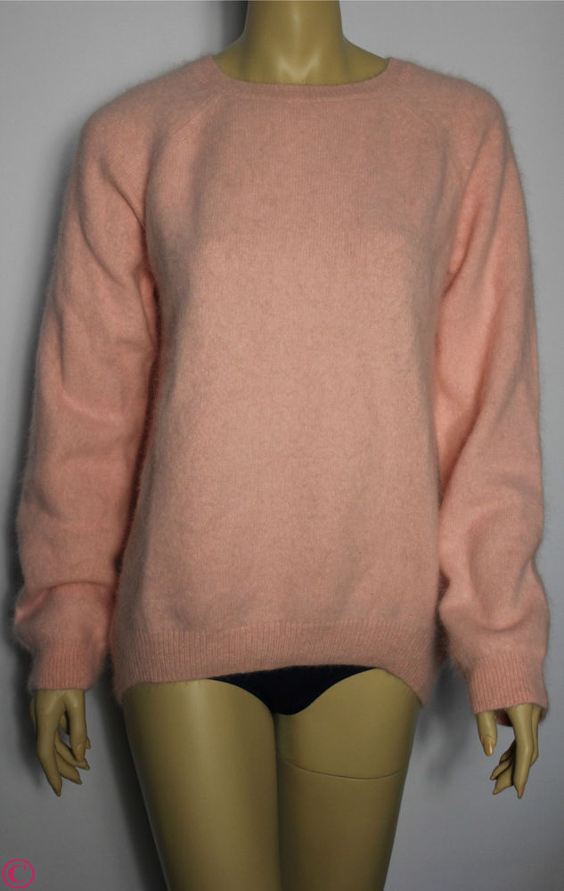 H M Lana Del Rey Kollektion Hipster Angora Wolle Pullover Pulli Rosa XS s M L XL | eBay