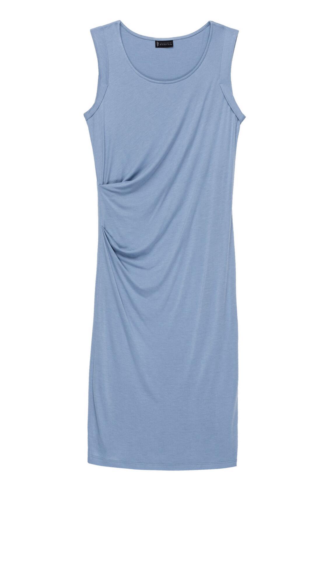 Julia Side Drape Knit Dress Plus Size - Dresses - Plus Size