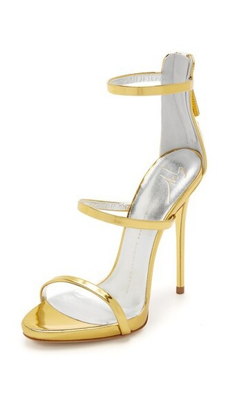 strappy sandals strappy sandals gold shoes