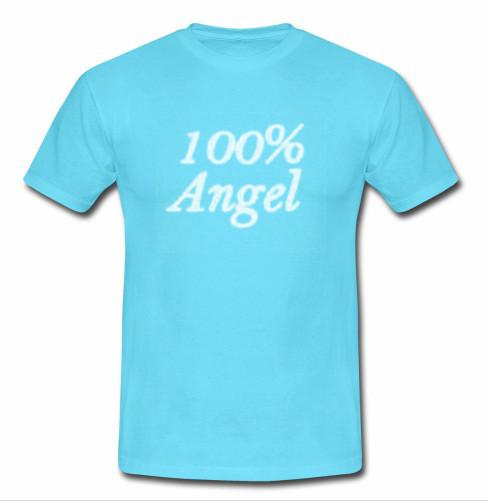 100% angel shirt