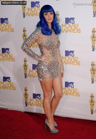 dress sequin dress katy perry