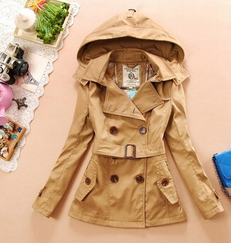 jacket spring raincoat waterproof hood