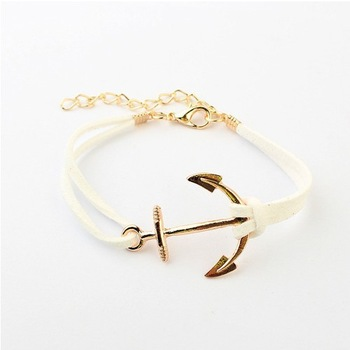 Aliexpress.com : Buy The Korean fashion anchor color woven rope bracelet#13091003 from Reliable rope military suppliers on KLYSTO wholesale Jewelry Co. Ltd.