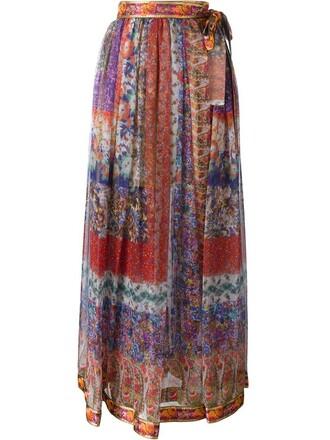skirt maxi skirt maxi floral print red