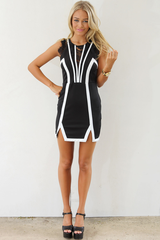 SABO SKIRT  Nobu Lace Dress - Black - 58.0000