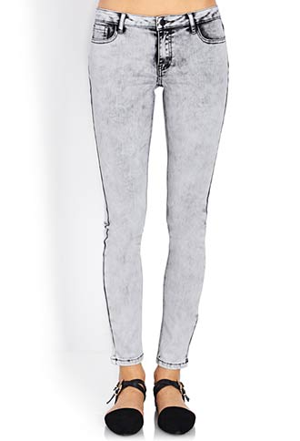 Fresh Acid Wash Skinny Jeans | FOREVER 21 - 2000126500