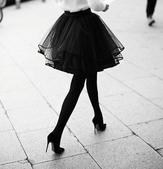 tulle skirt couture sweet shirt
