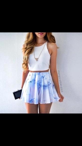 skirt colorful
