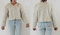 1980s shaggy faux mongolian lambswool cropped cream bohemian jacket coat