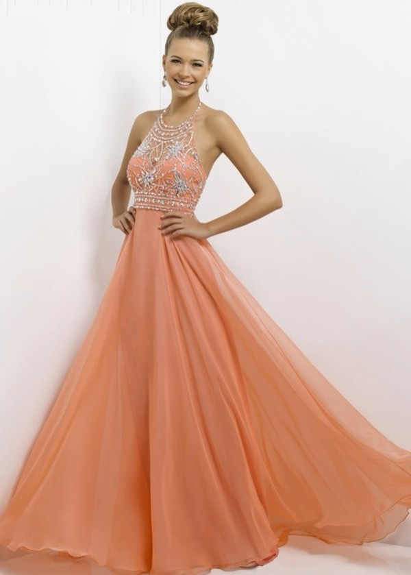 dress prom dress long prom dress pink prom dress peach prom dress cute sequin dress halter dress bling dress prom dress prom dress beautiful evening dress party dress prom prom gown coral dress formal dress backless