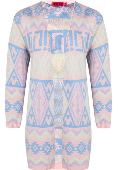 pastel cardigan aztec warm fall outfits spring