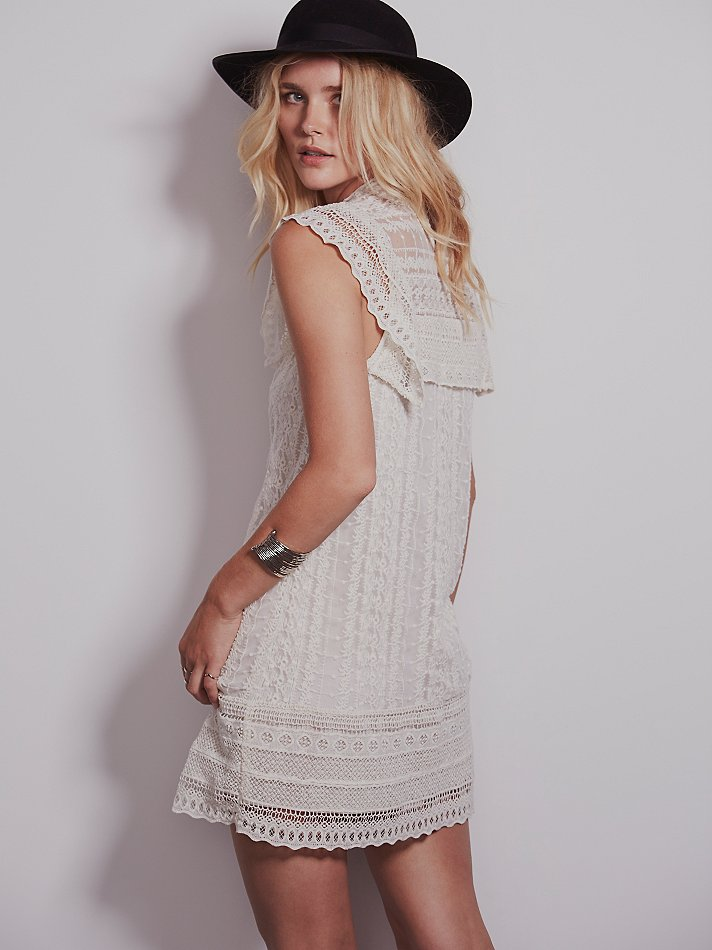 Free People Victoria's High Neck Shift