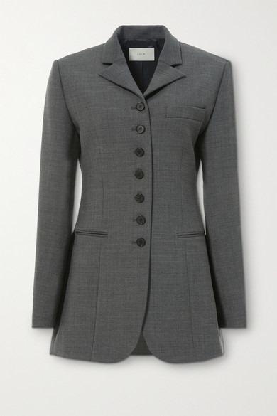 LVIR - Woven Blazer - Gray - Woven Blazer