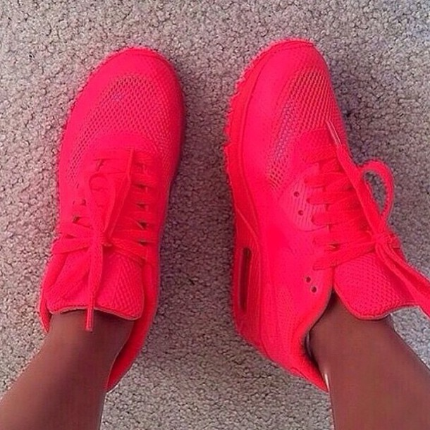 shoes hot pink