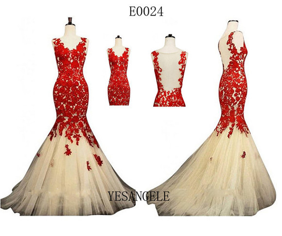 red dress evening dress wedding dress evening gown lace dress long prom dresses tulle wedding dresses dreses cheap dresses
