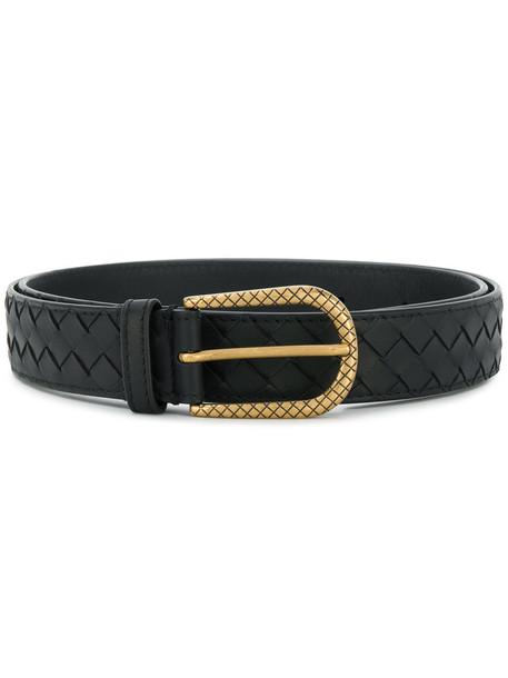 Bottega Veneta women belt black
