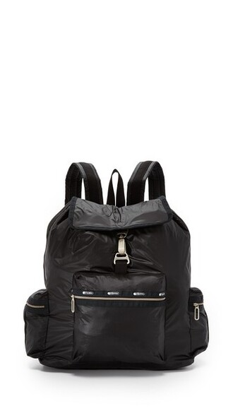 zip bag black