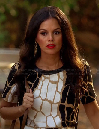 dress rachel bilson hart of dixie earrings jewels