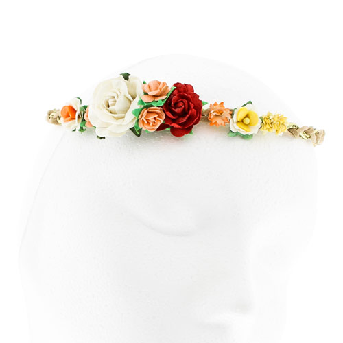 Floral Plaited Headwrap, Abi Marvel, Headwraps, Hair, all, Headbands Fashion trends, accessories and jewellery for young women