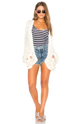 cardigan cream sweater