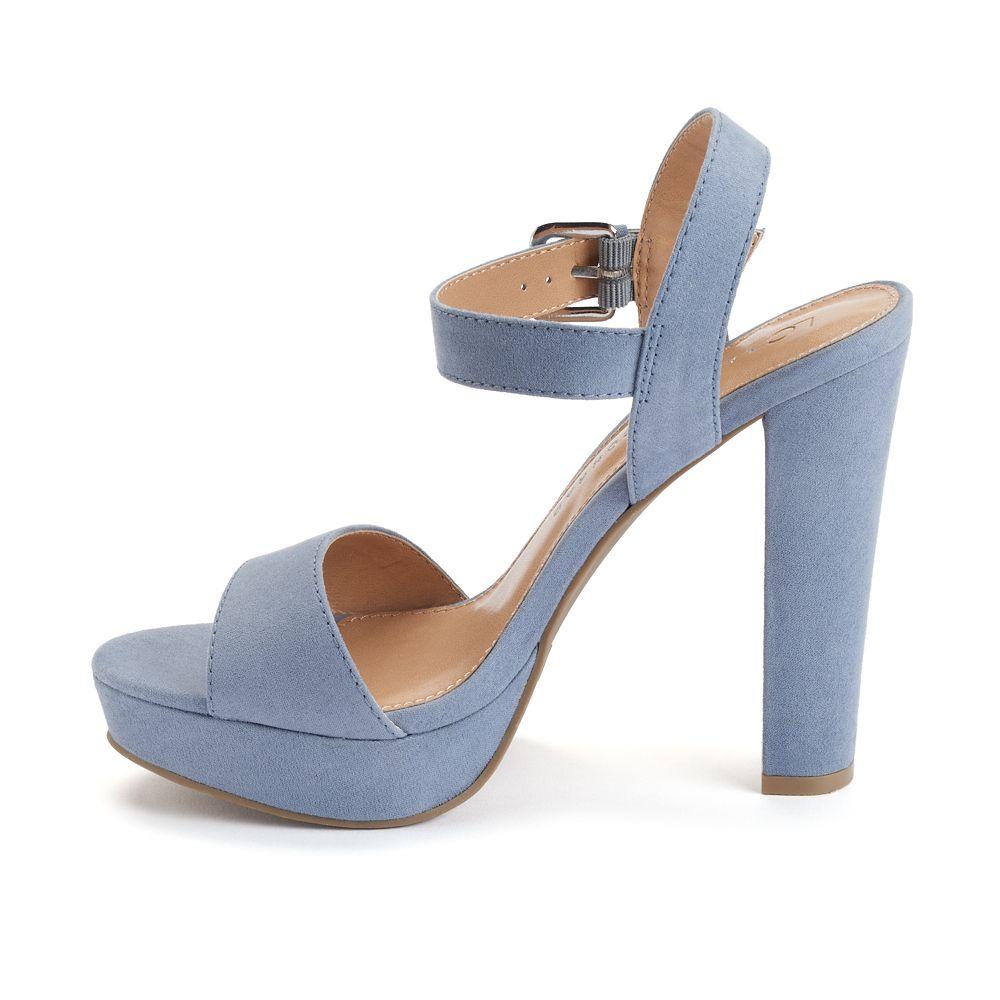 d59d254da10 LC Lauren Conrad Women s Platform High Heel Sandals