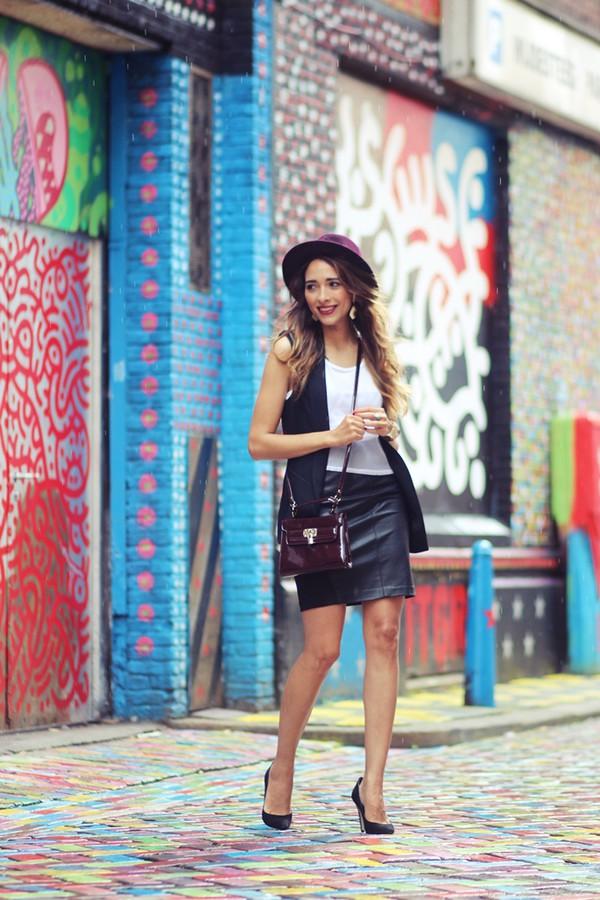 preppy fashionist blogger jacket top bag