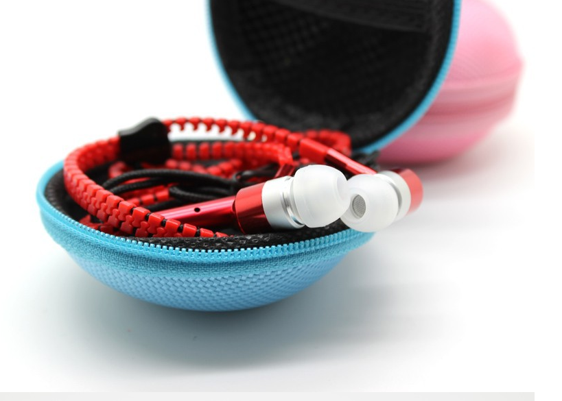 Zipper earphones earphone case · emporium 17 · online store powered by storenvy