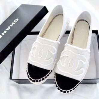 shoes white chanel