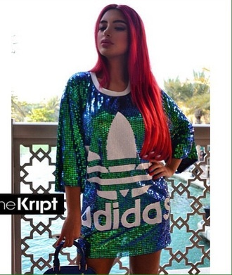 blouse forafriend adidas wings green dress beauiful adidas friends