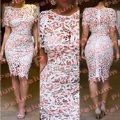 dress,crochet lace pencil dress,pencil dress,crochet dress,crochet lace dress,crochet party dress,crochet bandage dress,crochet midi dress